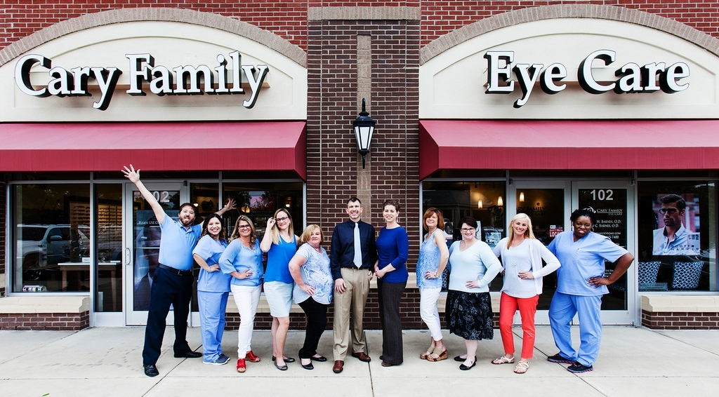 Cary Eye Center Staff Group Shot