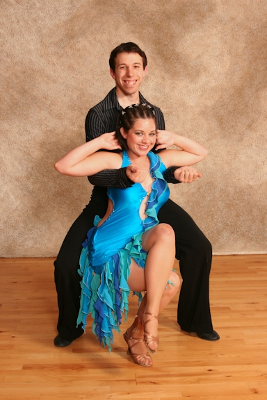Adult Ballroom Dance Pose