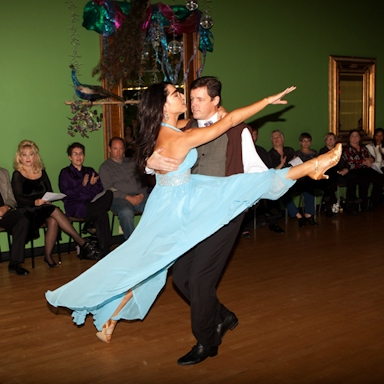 Adult Ballroom Dance Recital