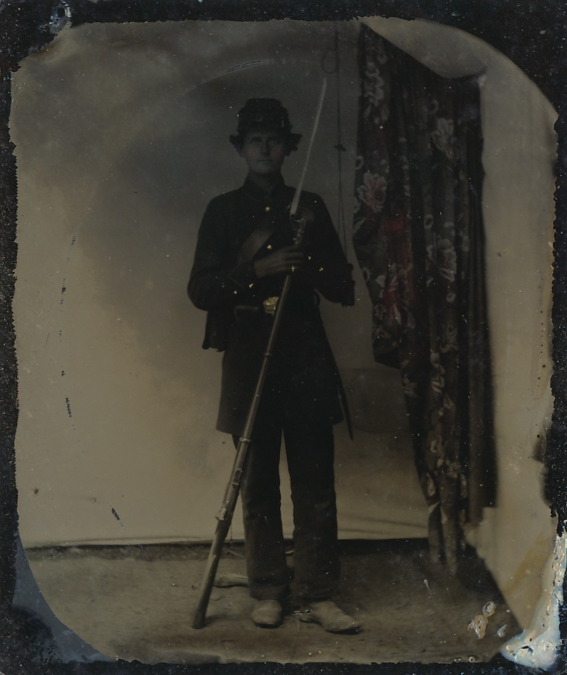 Original Civil War Tintype