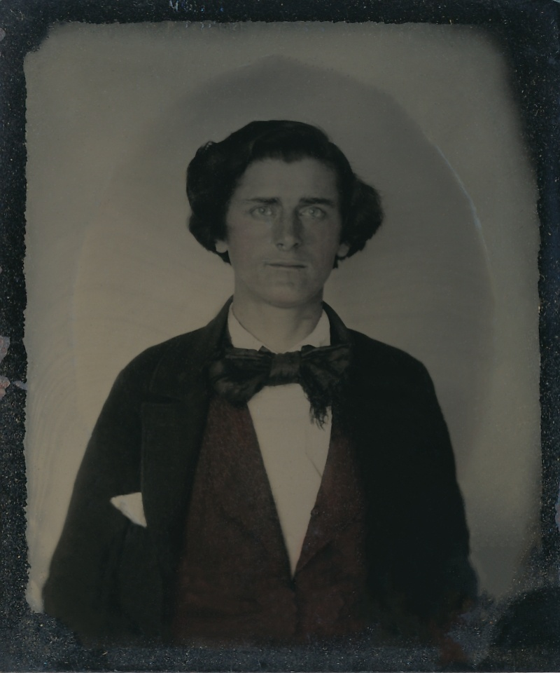 Restored Civil War Tintype
