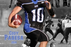 HS Football Composite Poster