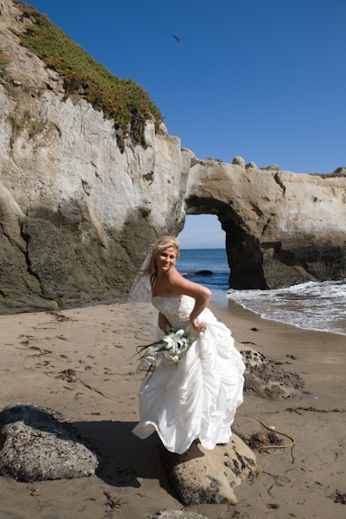 Natural Arch Wedding